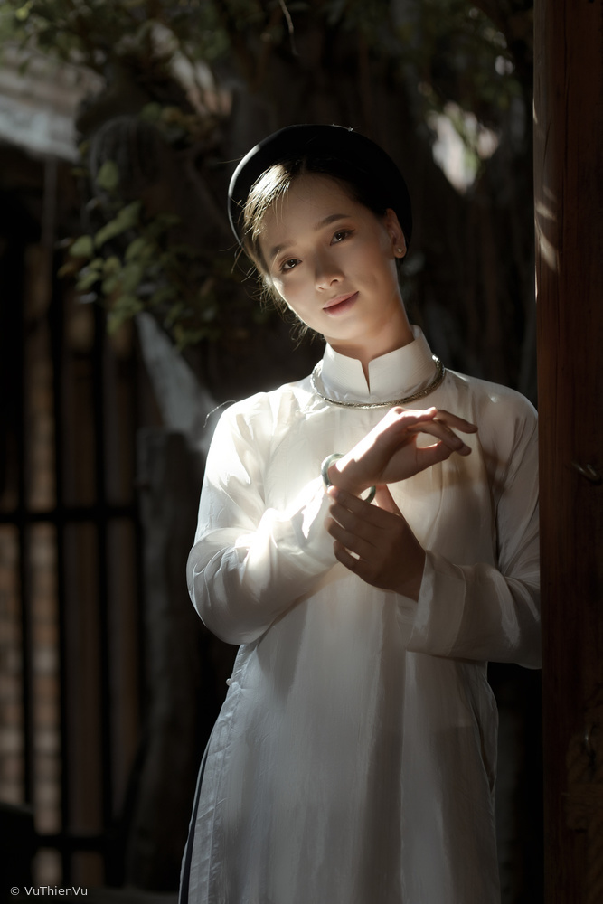 The daughter of the North in the ancient Ao Dai