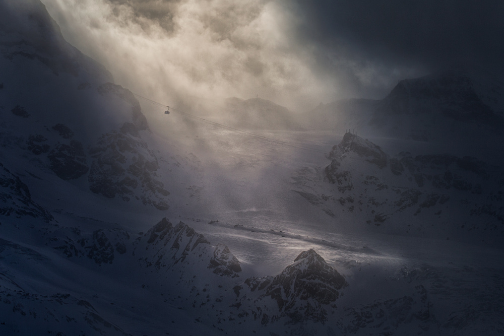 A piece of fine art art photography titled Swaying In the Winds by Peter Svoboda, MQEP