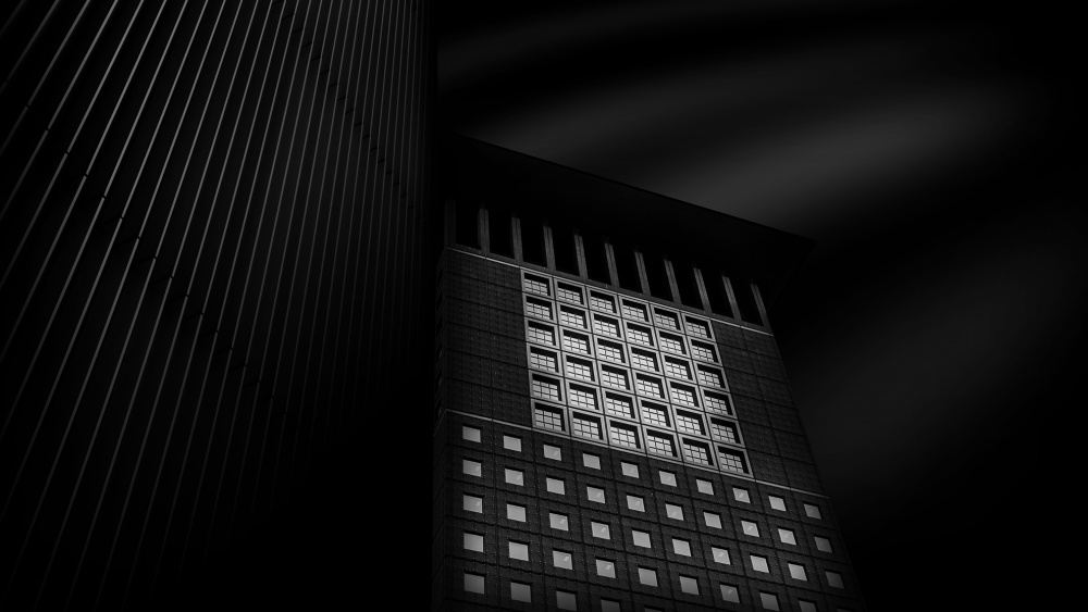 A piece of fine art art photography titled Japan Tower by Joachim Bruederl