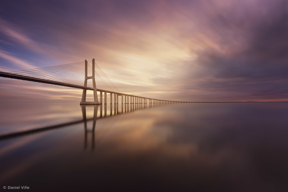 View this piece of fine art photography titled Bridge to the infinity by Daniel Viñe