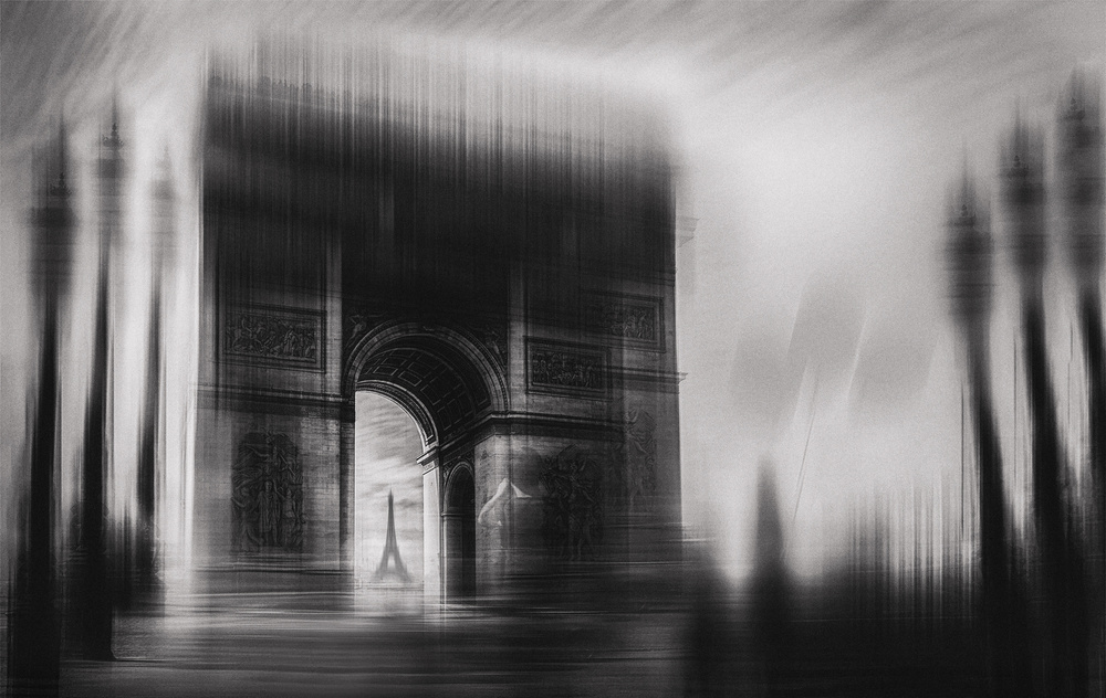 A piece of fine art art photography titled Triumphal Arch by Oussama Mazouz
