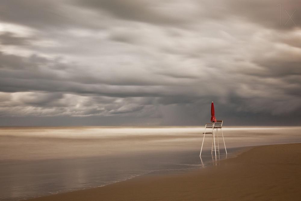 A piece of fine art art photography titled Red by Massimo Della Latta