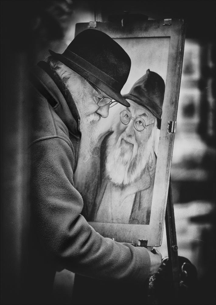 A piece of fine art art photography titled Remember  by Monique Krivitzki