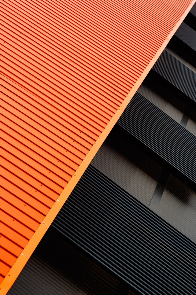 A piece of fine art art photography titled Orange and Black by Tomás San Andrés