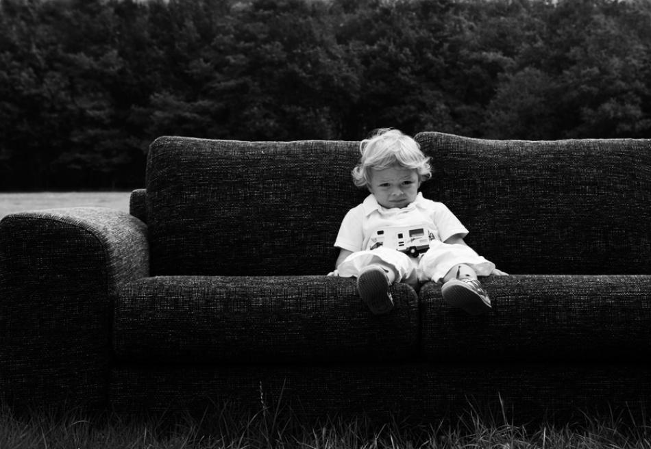 A piece of fine art art photography titled Gijs by Petra Oldeman