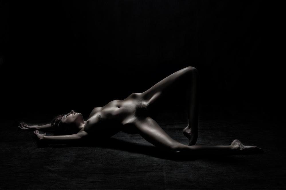A piece of fine art art photography titled Bodyscape by Hugh Wilkinson