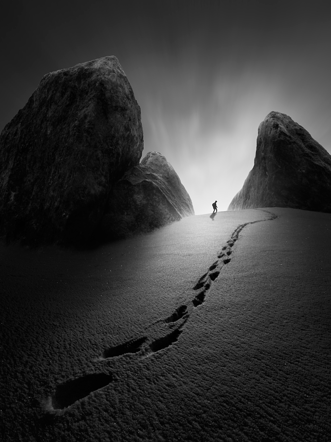 A piece of fine art art photography titled Follow Me by Tomas Tison
