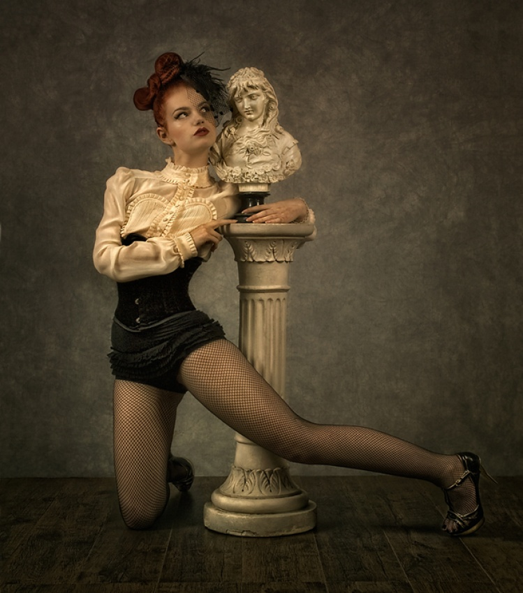 A piece of fine art art photography titled The Pillar by Peter Kemp