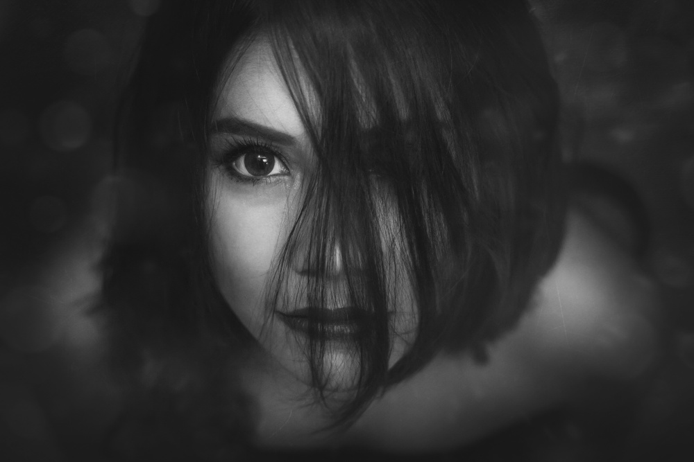 A piece of fine art art photography titled I Saw You by Ivan Marlianto