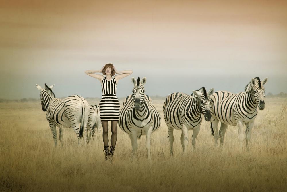 A piece of fine art art photography titled Africa I by Christine von Diepenbroek