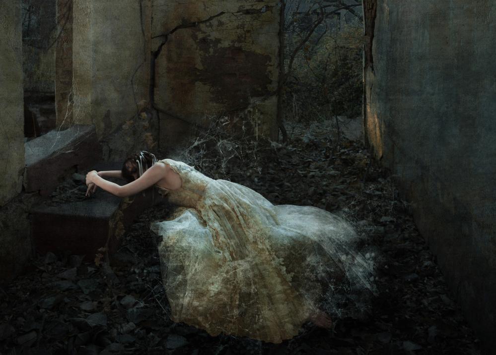 A piece of fine art art photography titled Forsaken by Charlaine Gerber