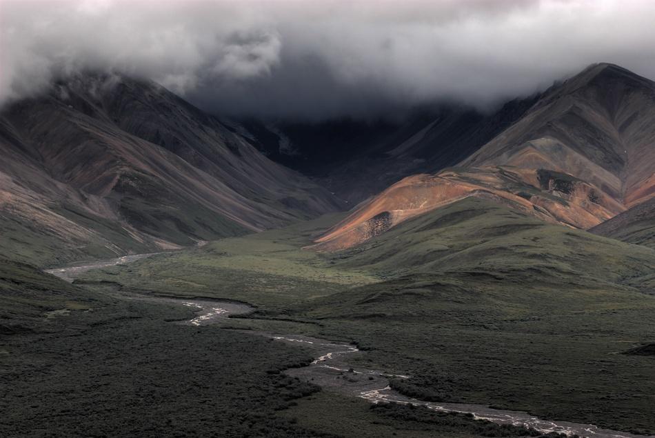 A piece of fine art art photography titled Into Denali by Paul Rosenbaum