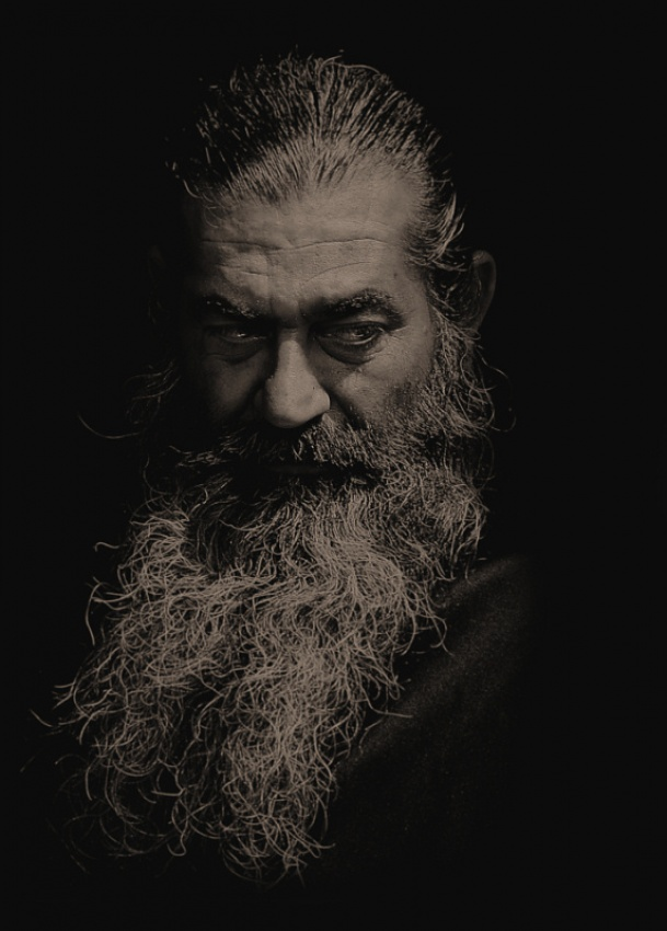 A piece of fine art art photography titled Orthodox Priest by gecko_gr