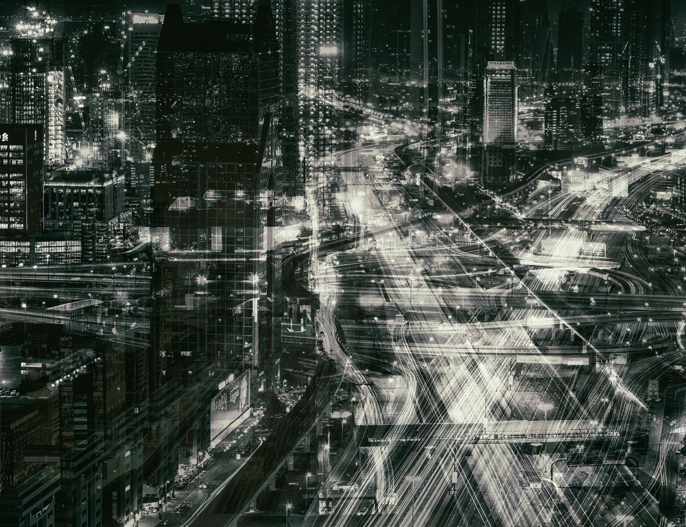 A piece of fine art art photography titled Matrix by Ahmed Thabet