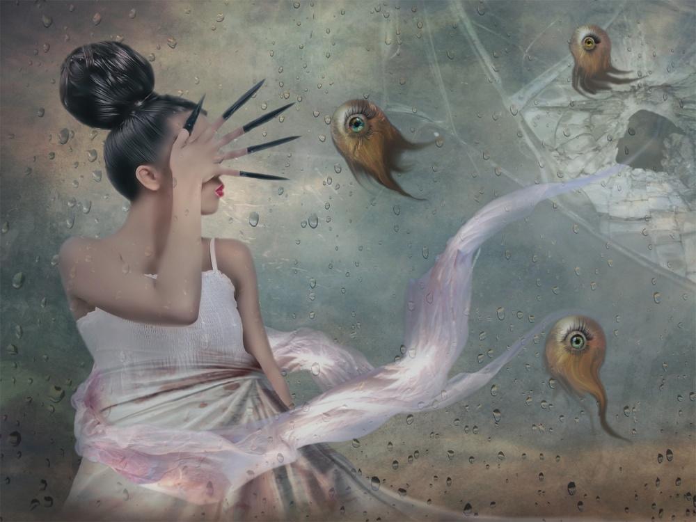 A piece of fine art art photography titled Whammy by Natalia Simongulashvili   ( NATALIORION )