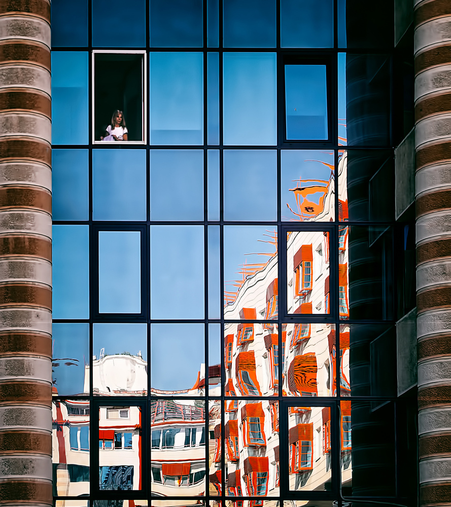 A piece of fine art art photography titled Imprisoned In the Tower by Miodrag Kosanović