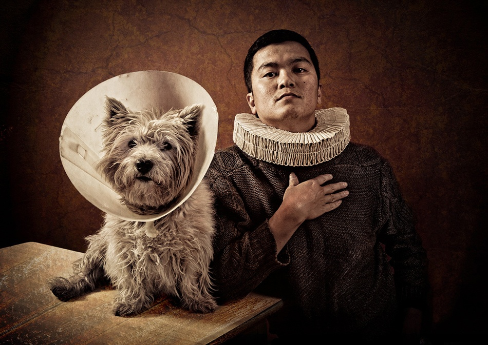 A piece of fine art art photography titled The Shakespeare Apocrypha by Coltrane Koh
