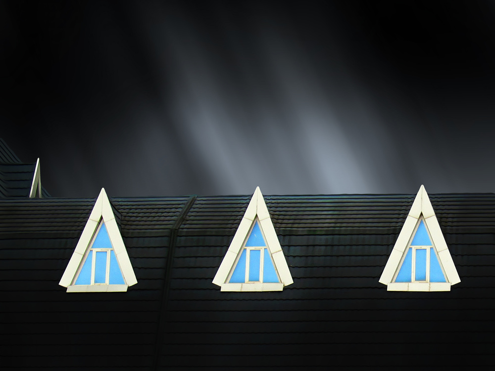 A piece of fine art art photography titled 4 Windows by Arian Yousefi Javan
