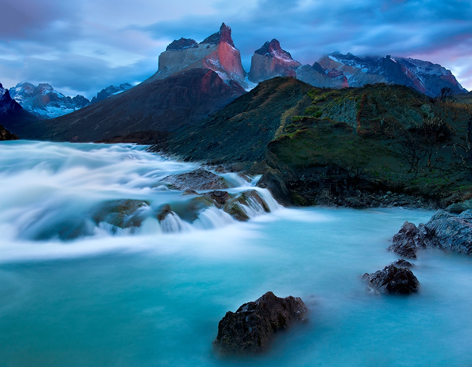 A piece of fine art art photography titled Torres Del Paine - the Horns by Doug Solis