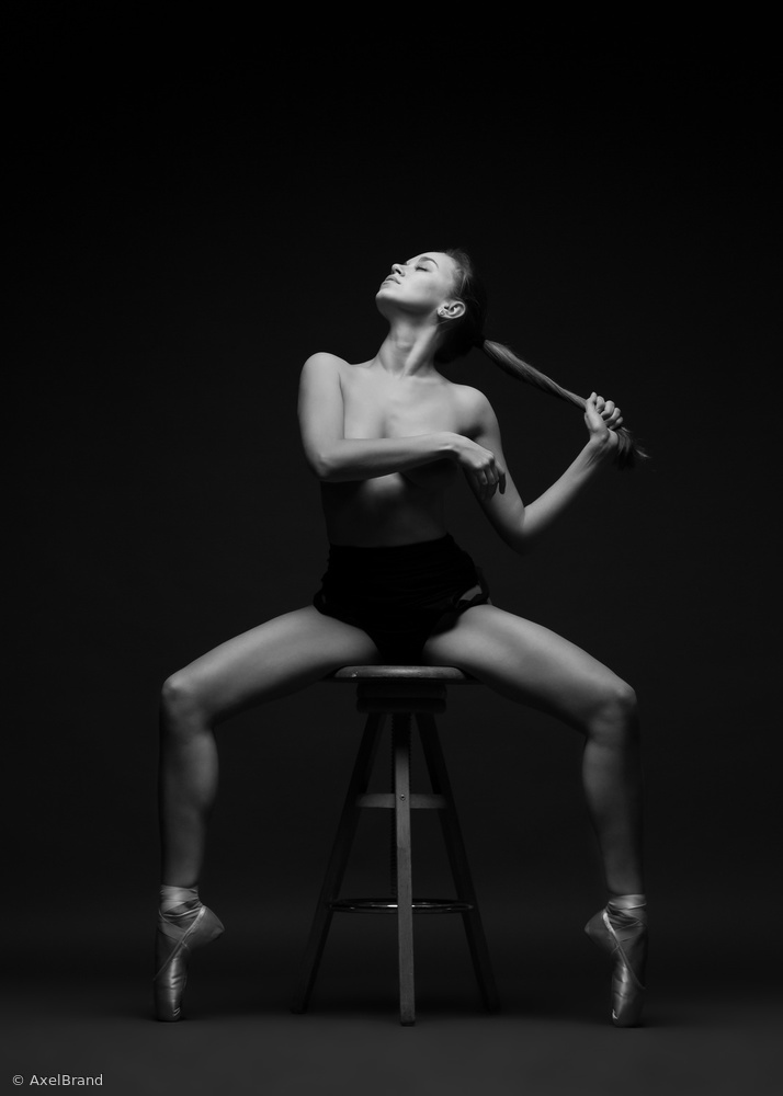 View this piece of fine art photography titled On Pointe by Axel Brand