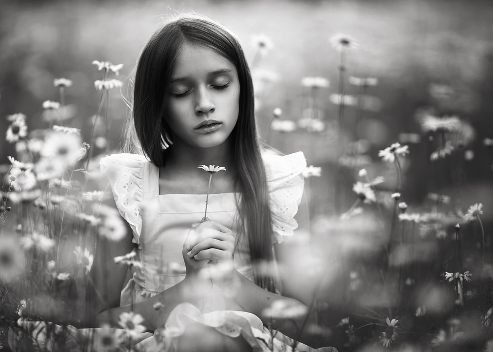 A piece of fine art art photography titled Camille by Lisa Holloway