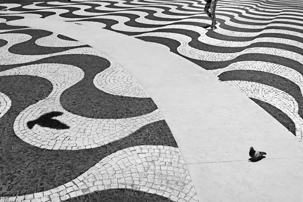 A piece of fine art art photography titled Push the Sky Away by Paulo Abrantes