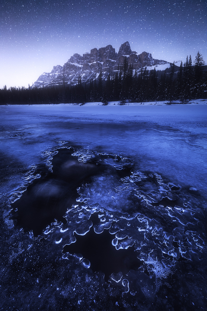 View this piece of fine art photography titled Castle Mountain by Arnaud MAUPETIT