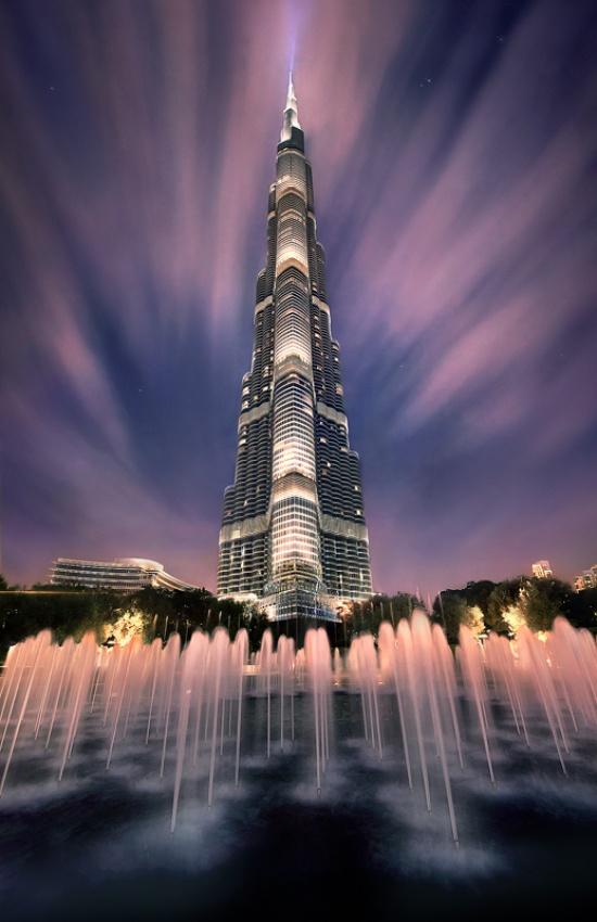 A piece of fine art art photography titled Burj Kalifa by Marc Adamus