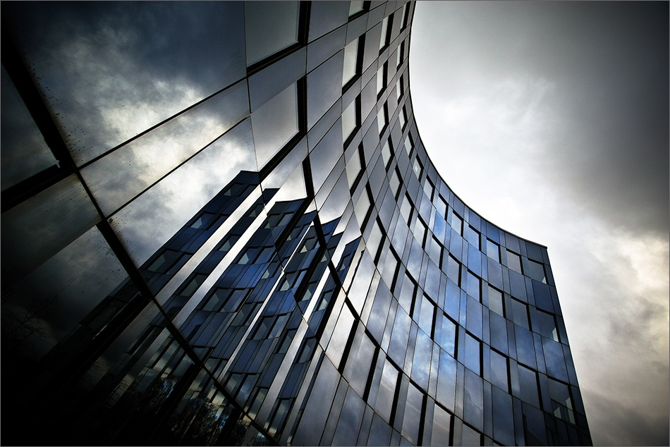 A piece of fine art art photography titled Arc Reflection by Patrick Frauchiger