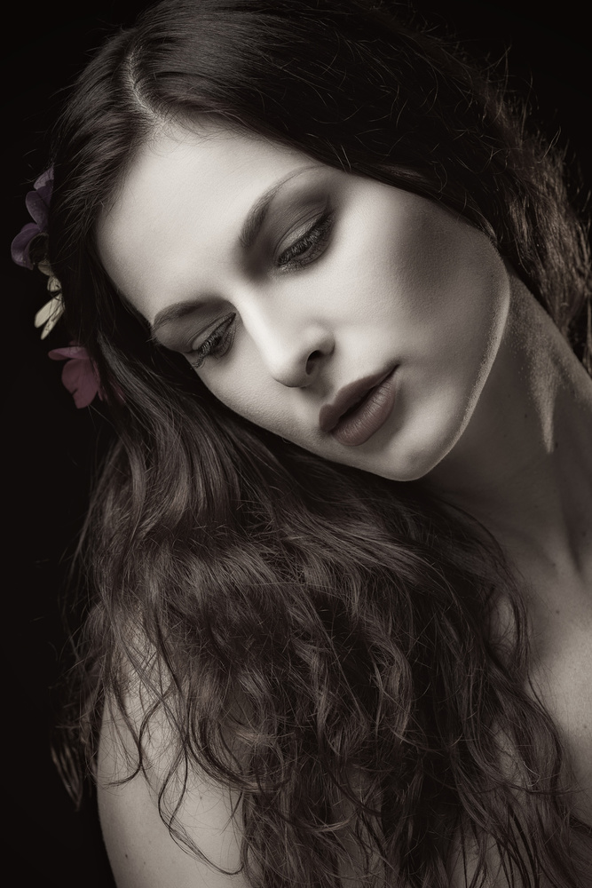 A piece of fine art art photography titled Ivana by Jan Slotboom