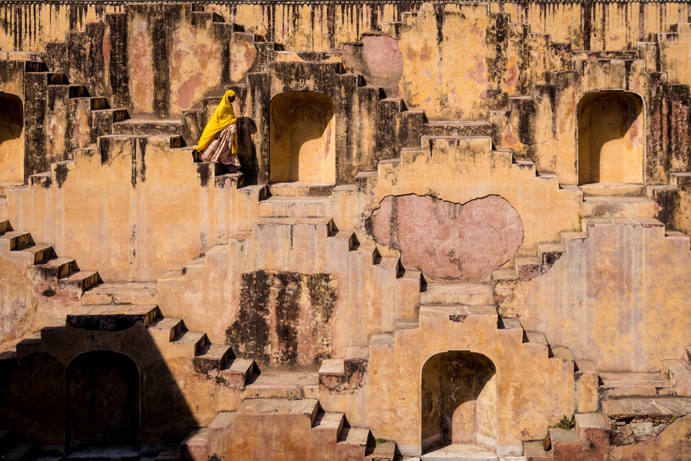 A piece of fine art art photography titled Jaipur , India by O-i miyaki