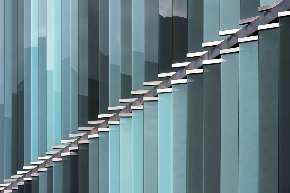 A piece of fine art art photography titled Zipper by Georges Forster