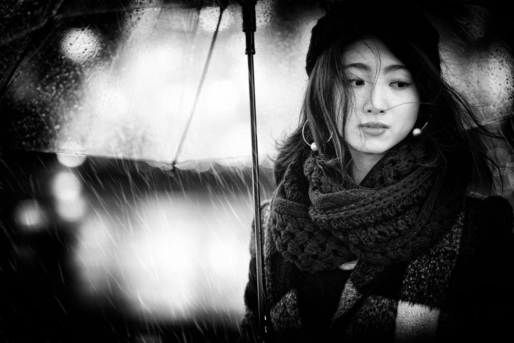 A piece of fine art art photography titled Rainy Day by Daisuke Kiyota