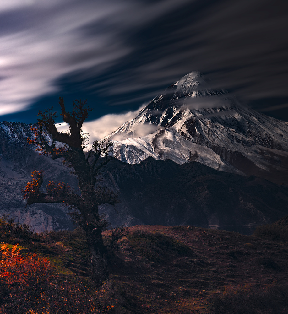 Autumn & Mount Damavand