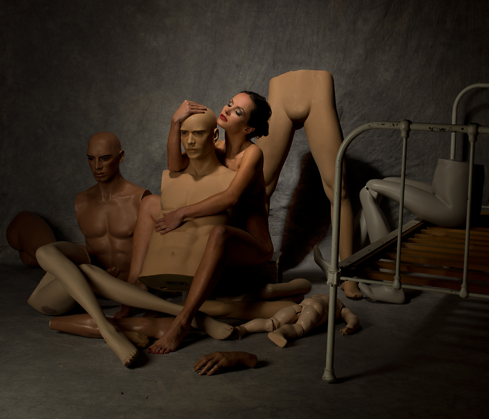 A piece of fine art art photography titled In Love by Peter Kemp
