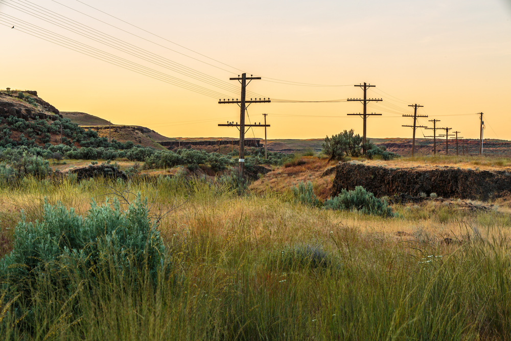 A piece of fine art art photography titled Modern Far West II by Francois Roughol