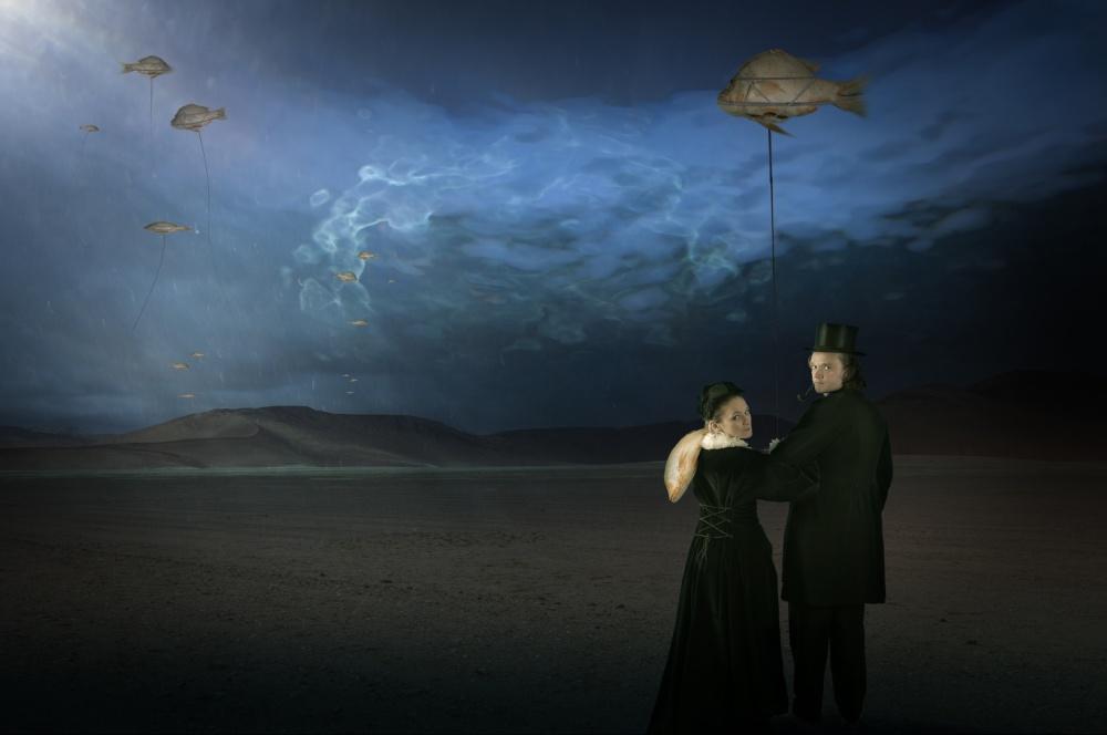 A piece of fine art art photography titled Underwaterworld by Christine von Diepenbroek