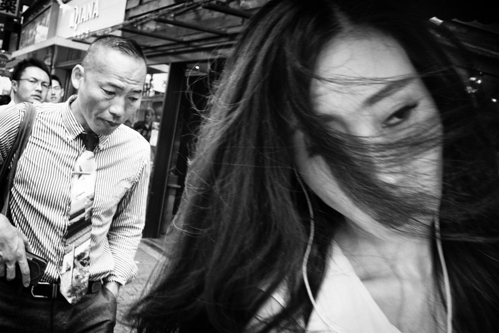 A piece of fine art art photography titled Shibuya Street - TOKYO 2017 by Ash Shinya Kawaoto