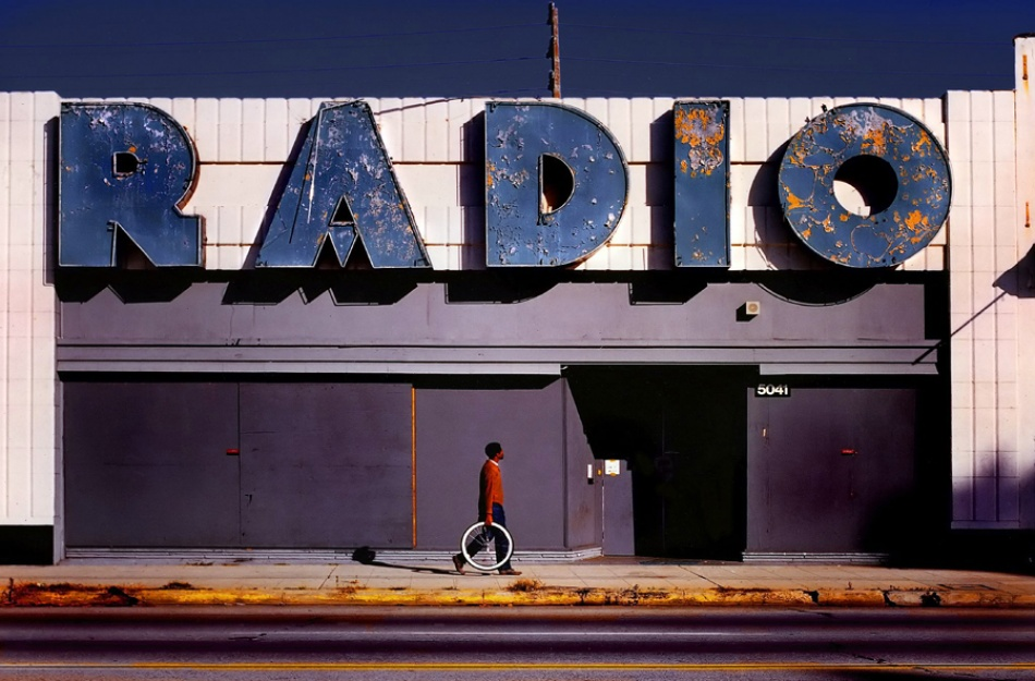 A piece of fine art art photography titled Radio by Jody Miller