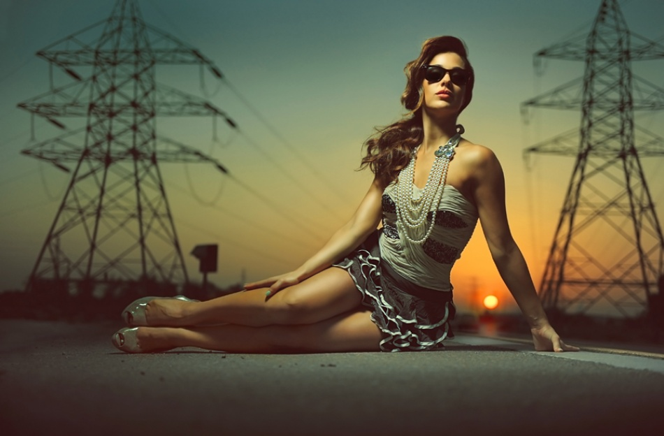 A piece of fine art art photography titled Feel the Way by ali rasit