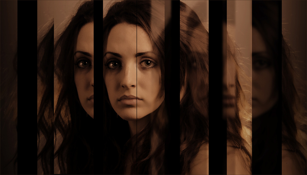 A piece of fine art art photography titled Dark Mirror by Pamela Brighton