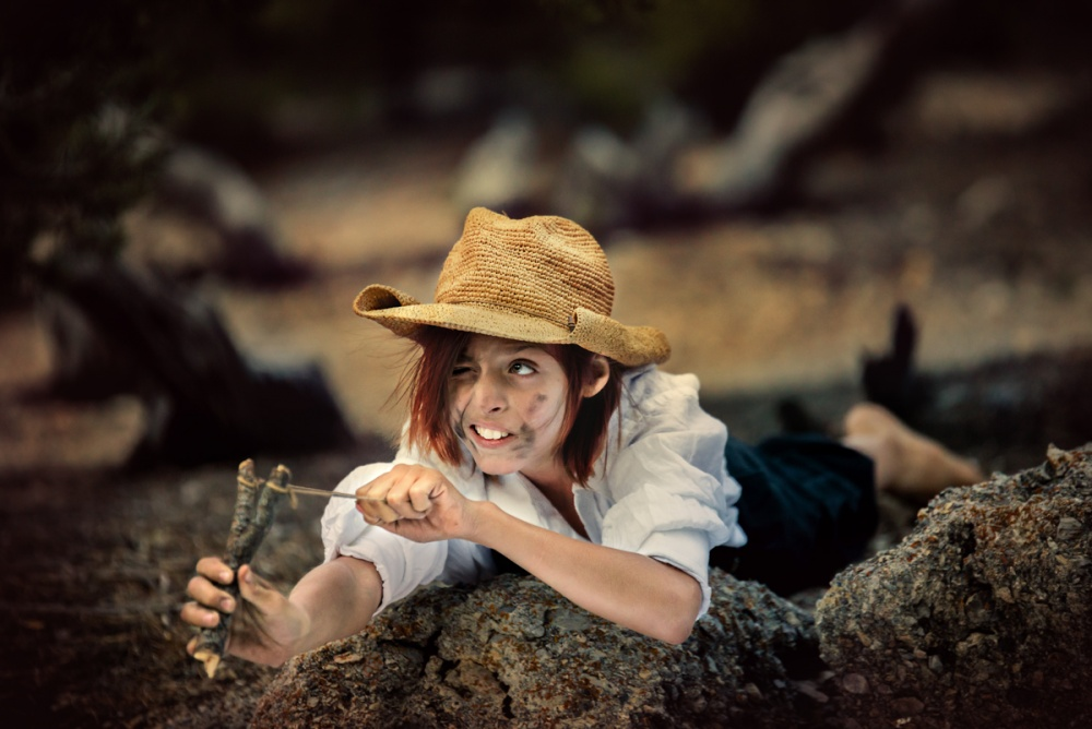 A piece of fine art art photography titled The Adventures of Tom Sawyer by EdiV Photography