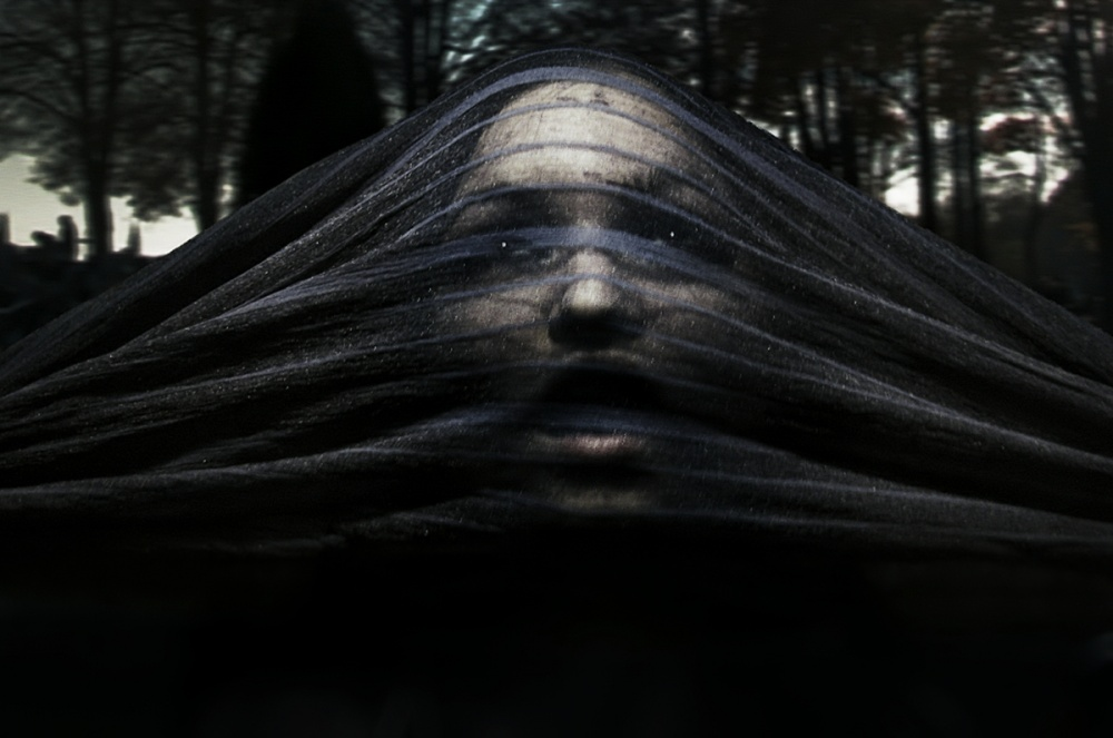 A piece of fine art art photography titled From the Other Side by Emerald Wake