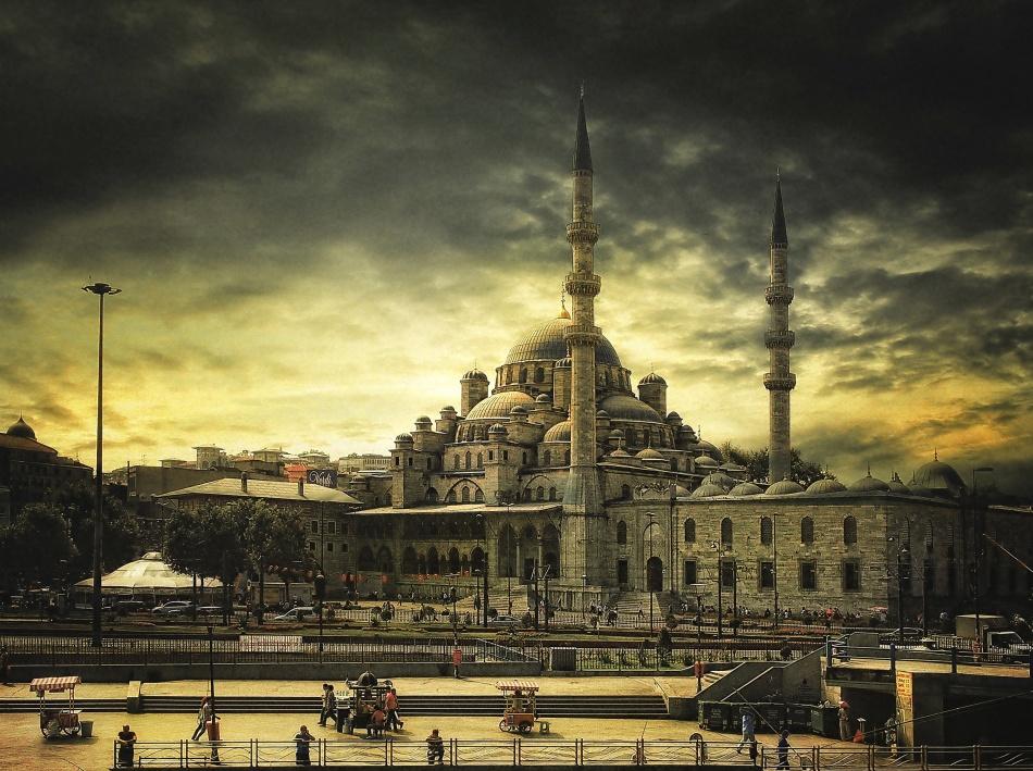 A piece of fine art art photography titled Istanbul by Albena Markova