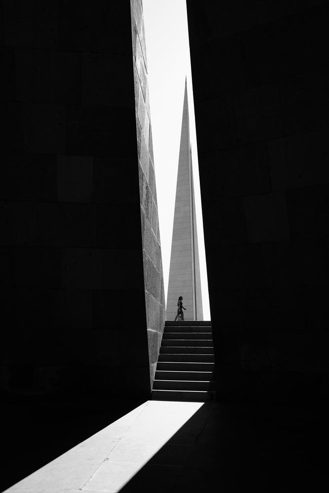 A piece of fine art art photography titled The Armenian Genocide Memorial by Ali Kian jam