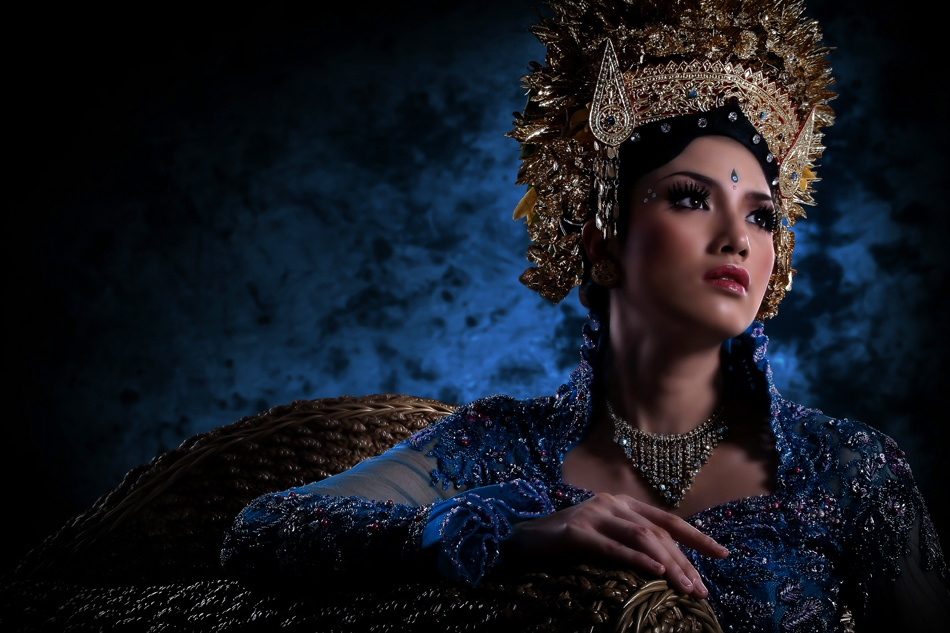 A piece of fine art art photography titled Art Portrait of Bali by dhiemaz saputra