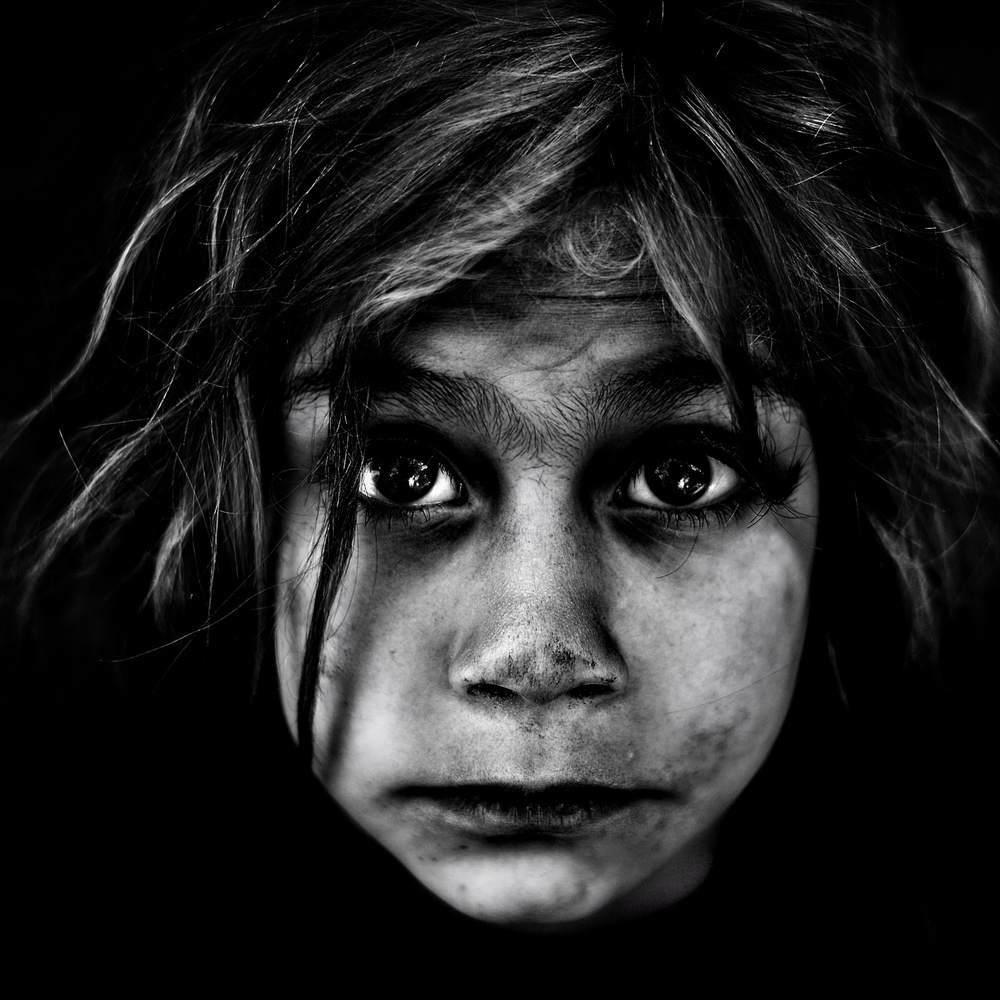A piece of fine art art photography titled Girl In Vain by murad halimoglu
