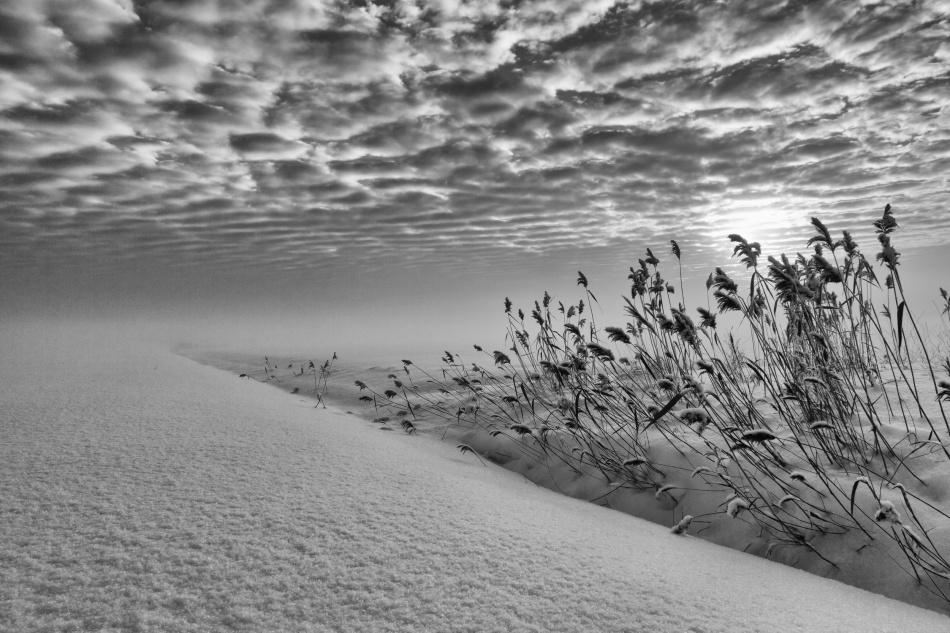 A piece of fine art art photography titled Infinity by Joakim Orrvik