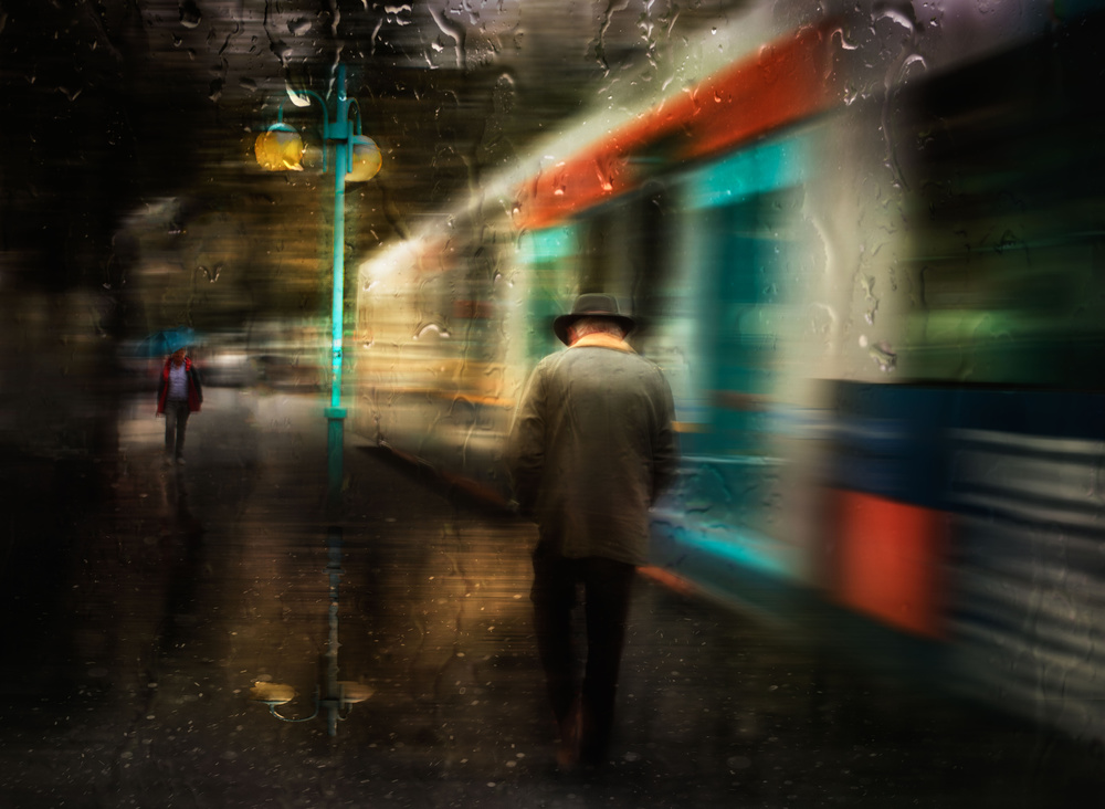 A piece of fine art art photography titled My Life Just Passing By by Charlaine Gerber