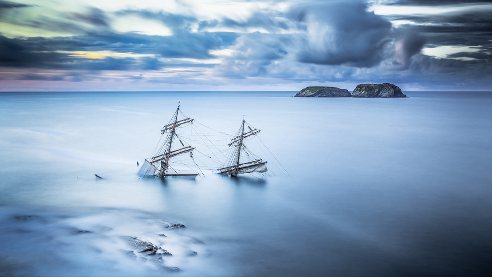 Wreck of Tall Ship Astrid